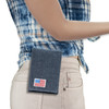 Walther PPK/S Denim Canvas Flag Series Holster