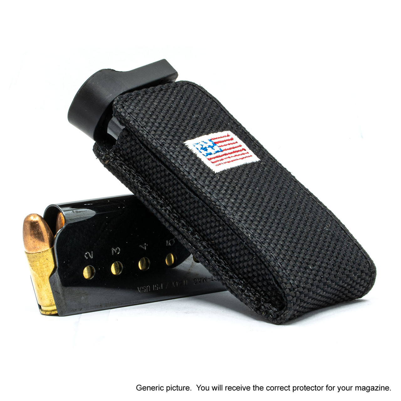 Ruger Security 9 Black Canvas Flag Magazine Pocket Protector