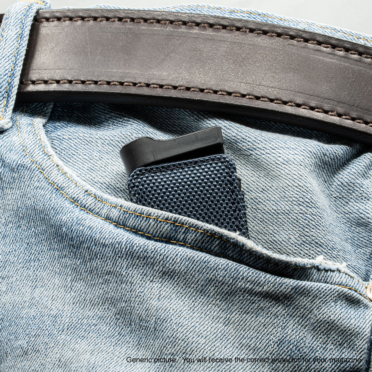 Glock 19X Blue Covert Magazine Pocket Protector