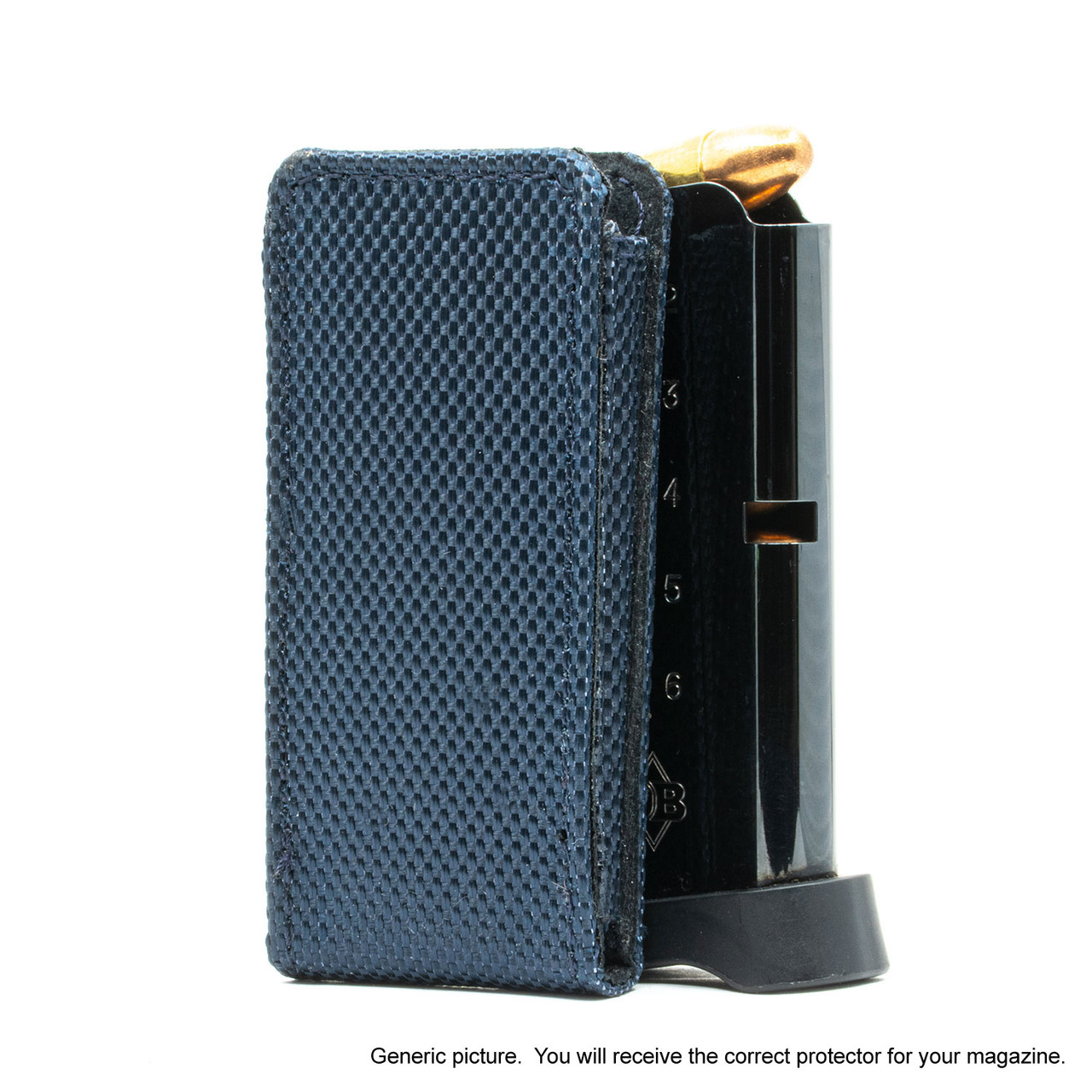 Kahr CW45 Blue Covert Magazine Pocket Protector