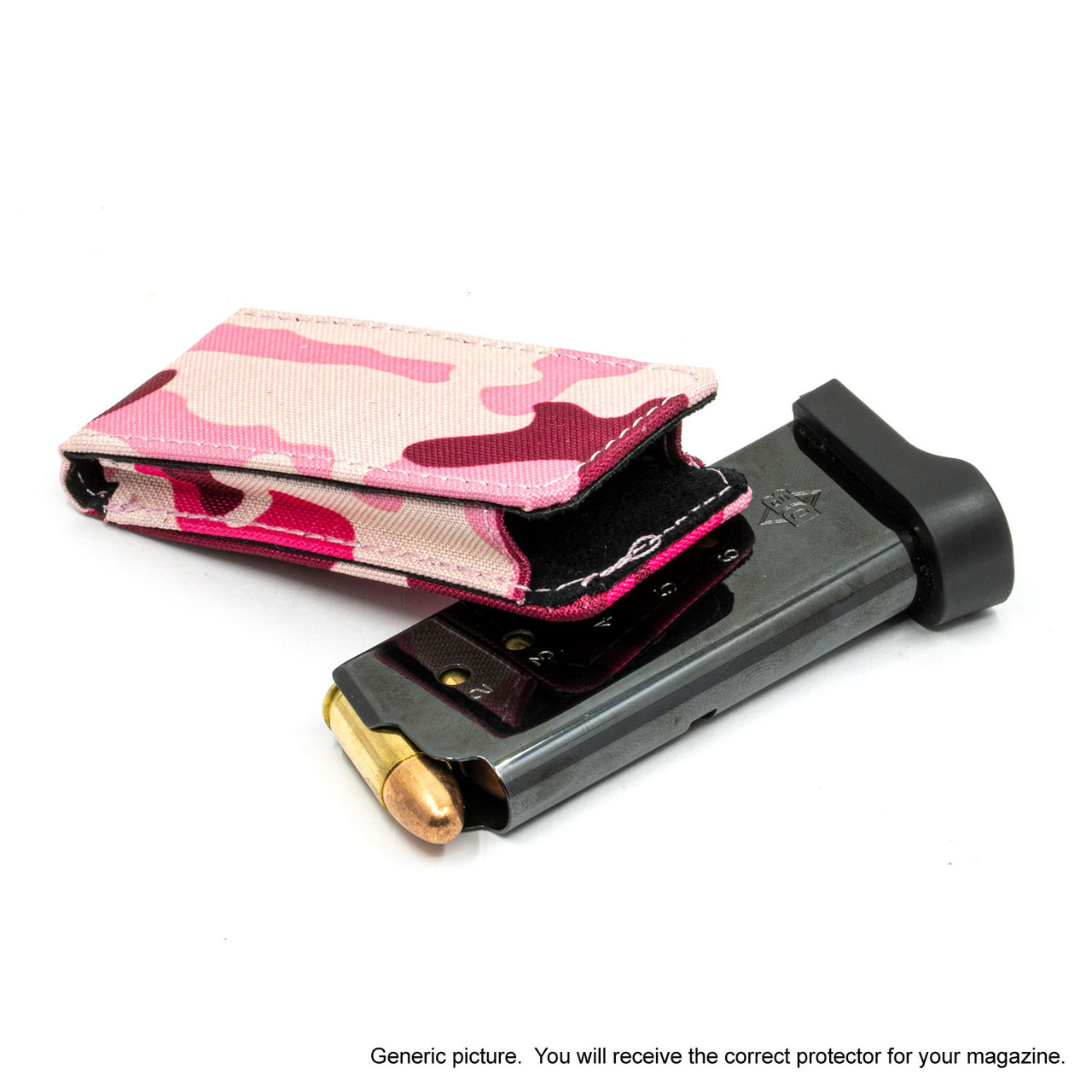 Colt Mark IV Series 80 (.380) Pink Camouflage Magazine Pocket Protector