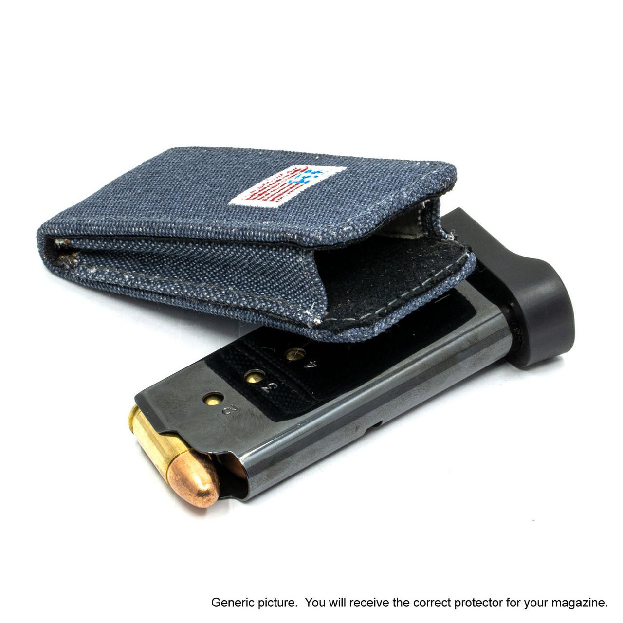 CZ P-10 C Denim Canvas Flag Magazine Pocket Protector