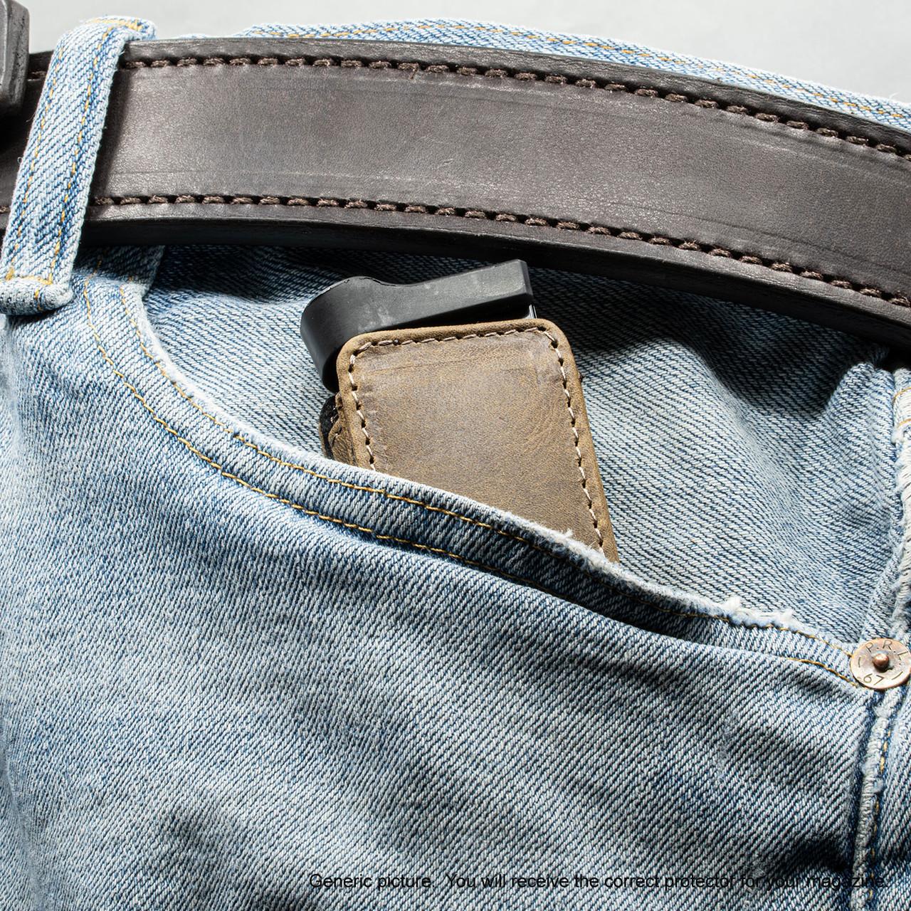 Kimber Ultra Carry II Brown Freedom Magazine Pocket Protector