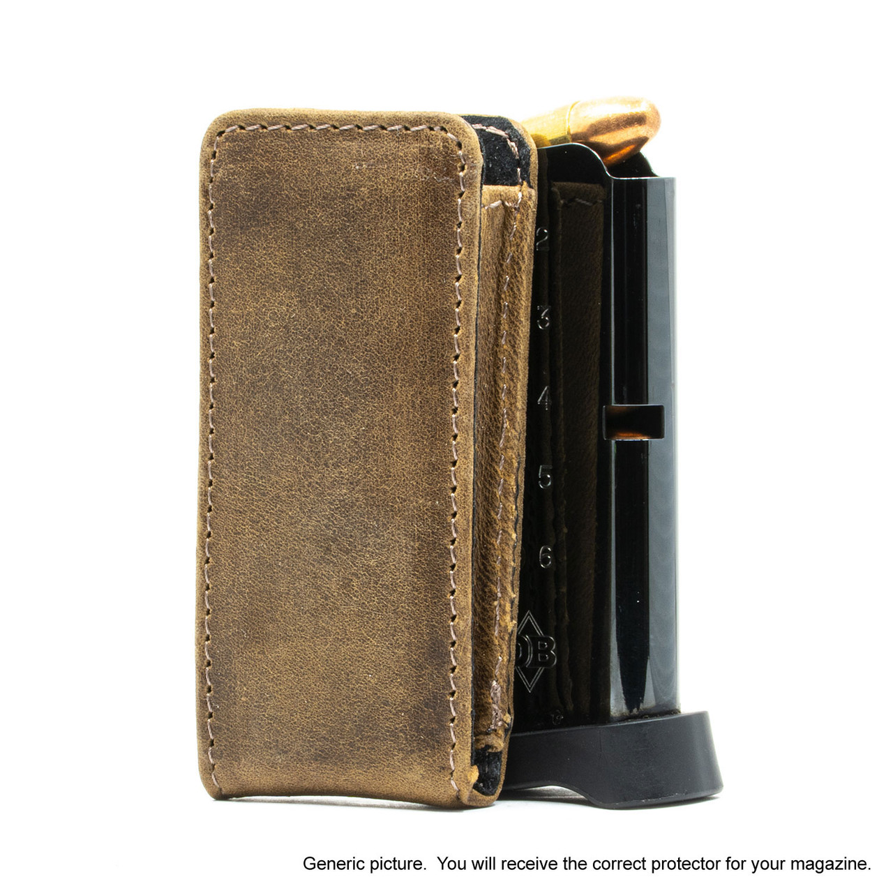 Springfield XDS 9mm Brown Freedom Magazine Pocket Protector