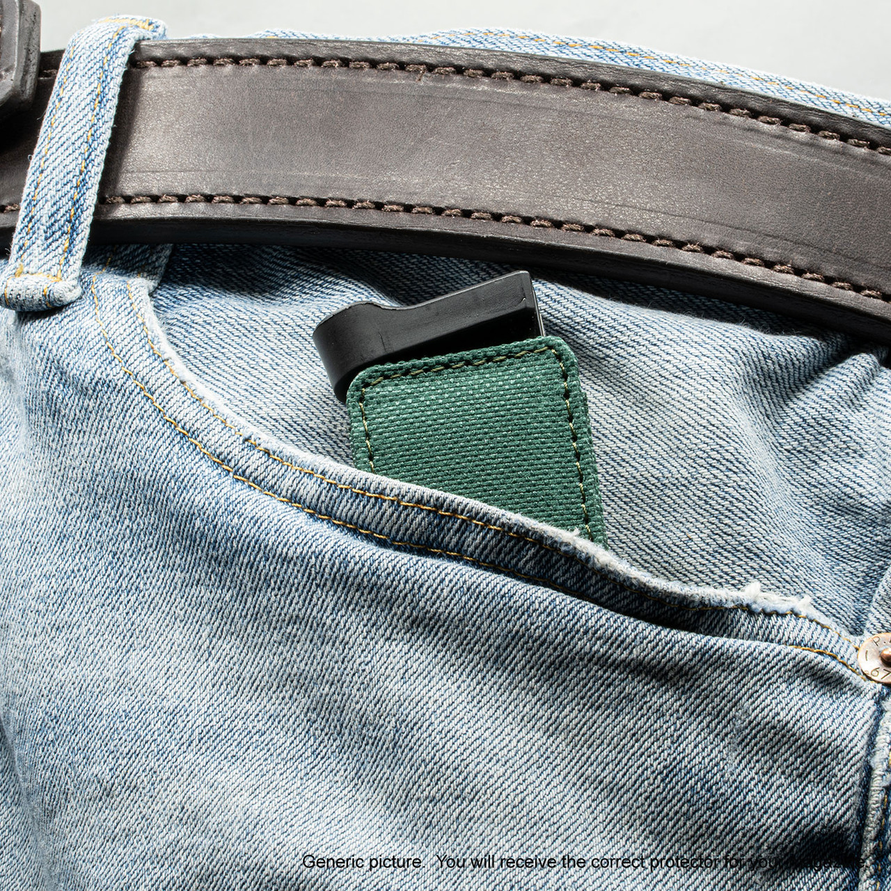 Browning 1911 .380 Green Covert Magazine Pocket Protector