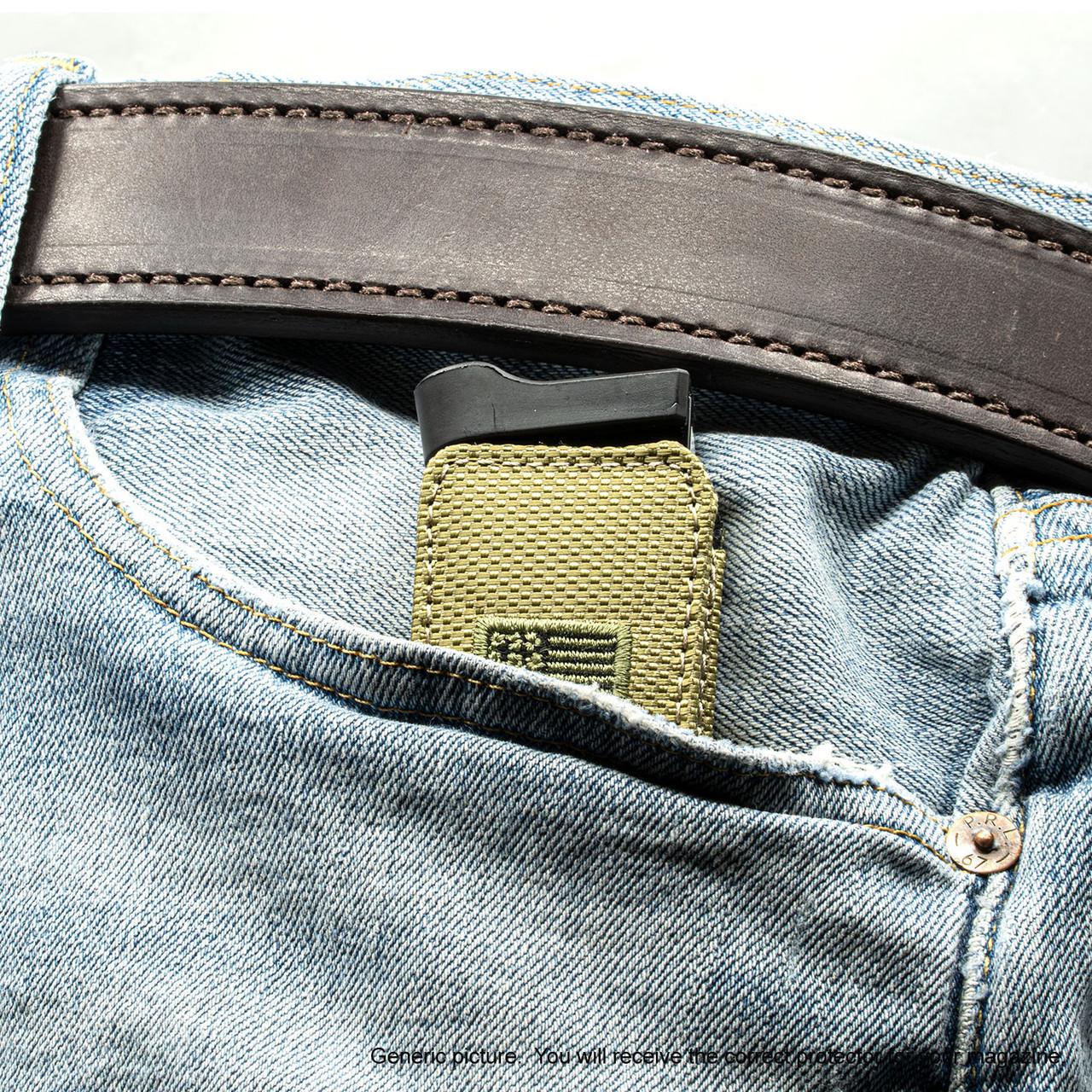 Sig P365 XL Green Canvas Flag Magazine Pocket Protector