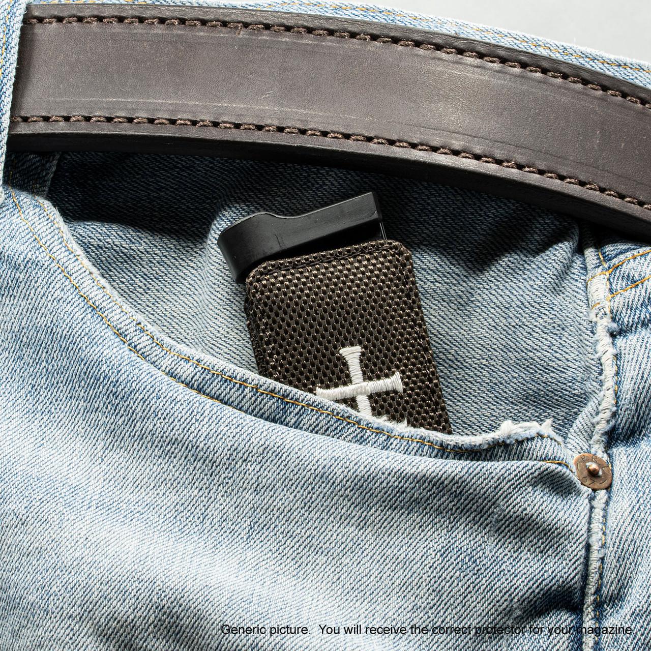 Kahr CW45 Brown Nylon Cross Magazine Pocket Protector
