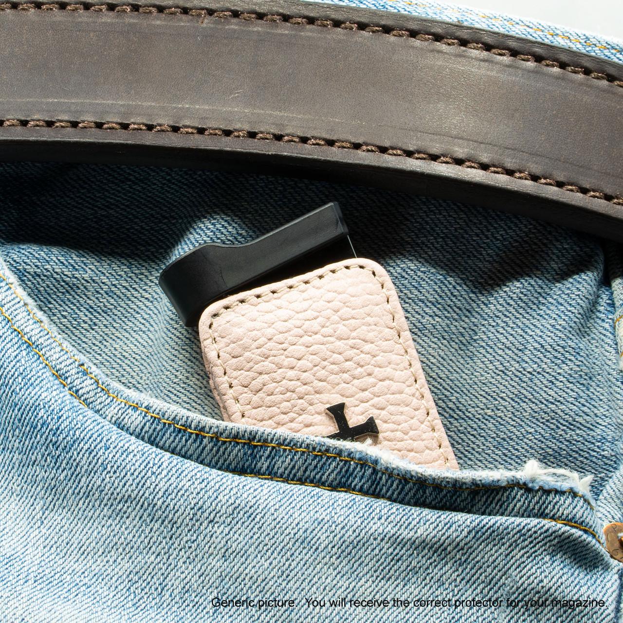 Bersa BP9CC Pink Carry Faithfully Cross Magazine Pocket Protector