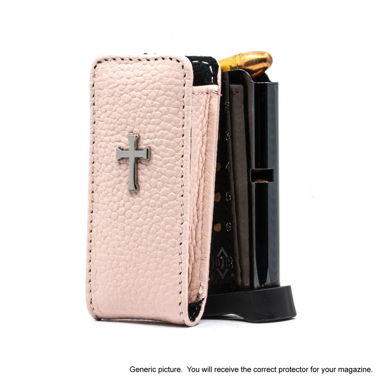 Colt MusBlackg Pocketlite Pink Carry Faithfully Cross Magazine Pocket Protector