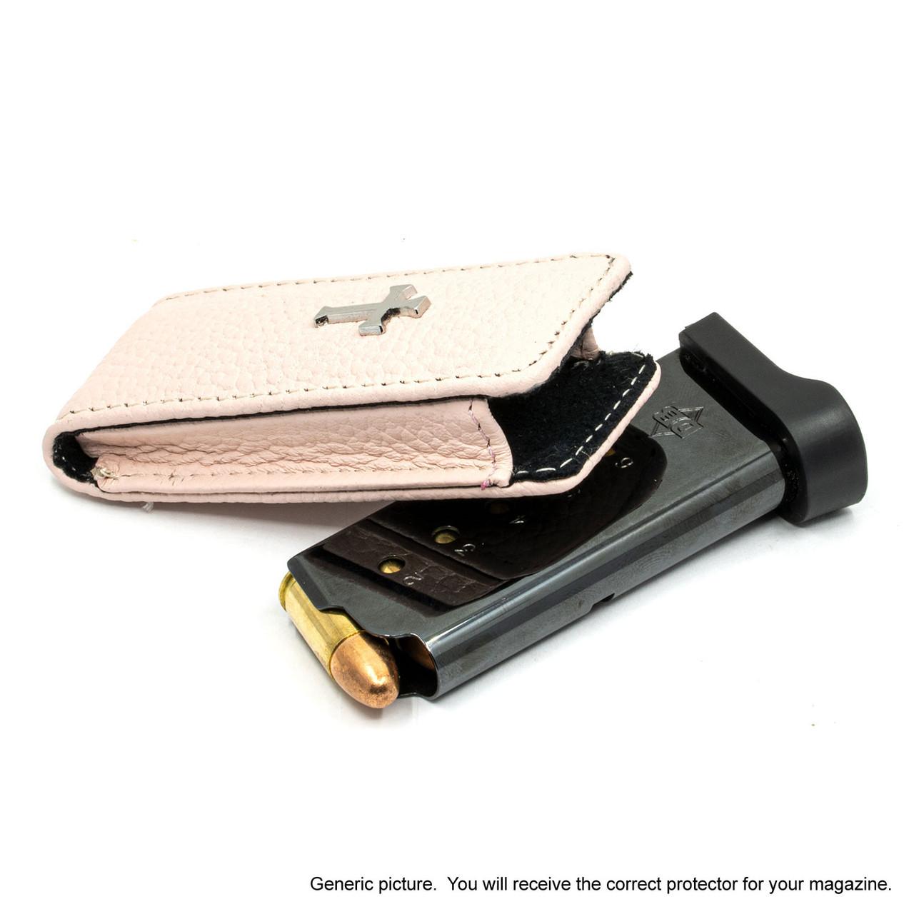 Kahr MK9 Pink Carry Faithfully Cross Magazine Pocket Protector