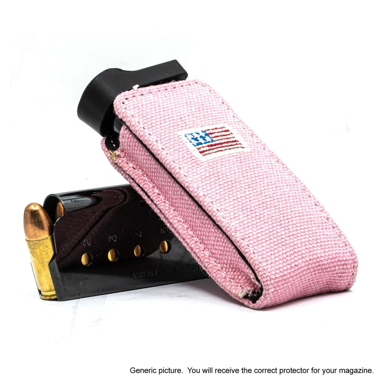 Kimber Ultra Carry II Pink Canvas Flag Magazine Pocket Protector