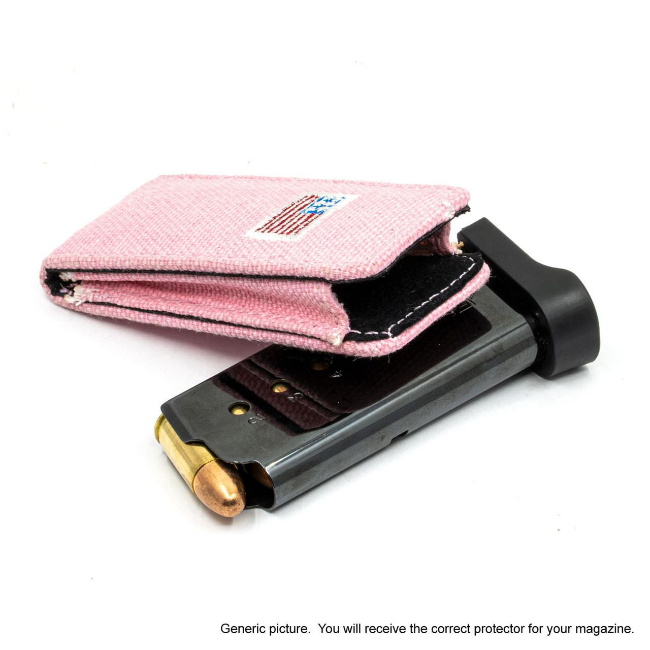 Shield EZ 9mm Pink Canvas Flag Magazine Pocket Protector
