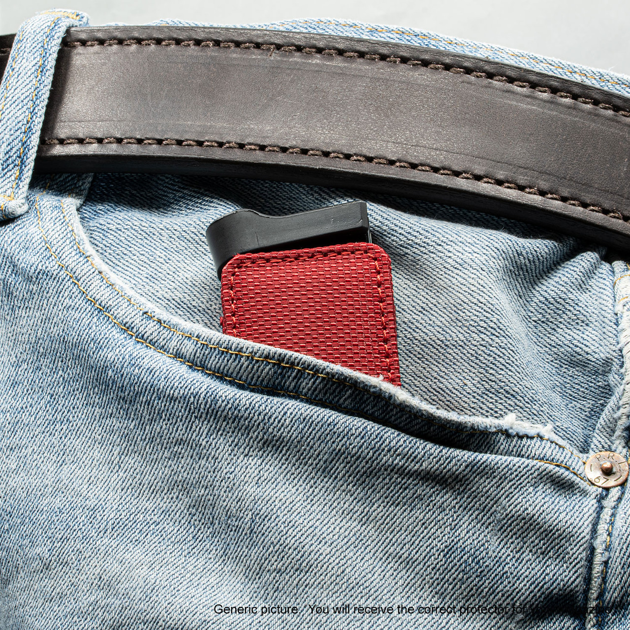 Springfield 911 9mm Red Covert Magazine Pocket Protector