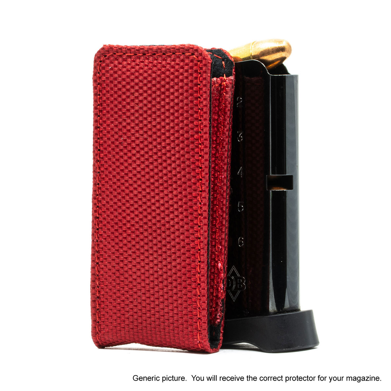 Browning 1911 .380 Red Covert Magazine Pocket Protector