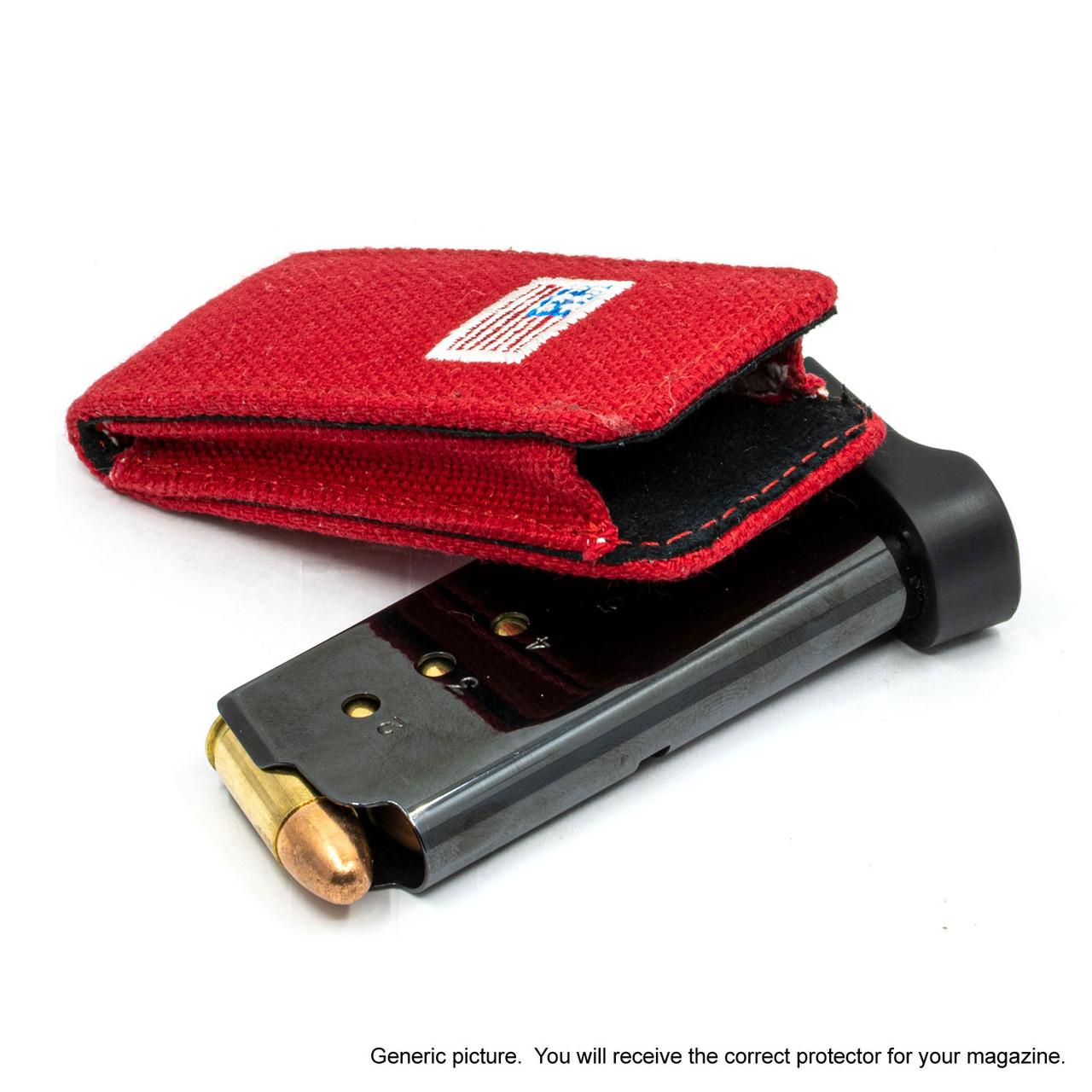 S&W SW9V Red Canvas Flag Magazine Pocket Protector