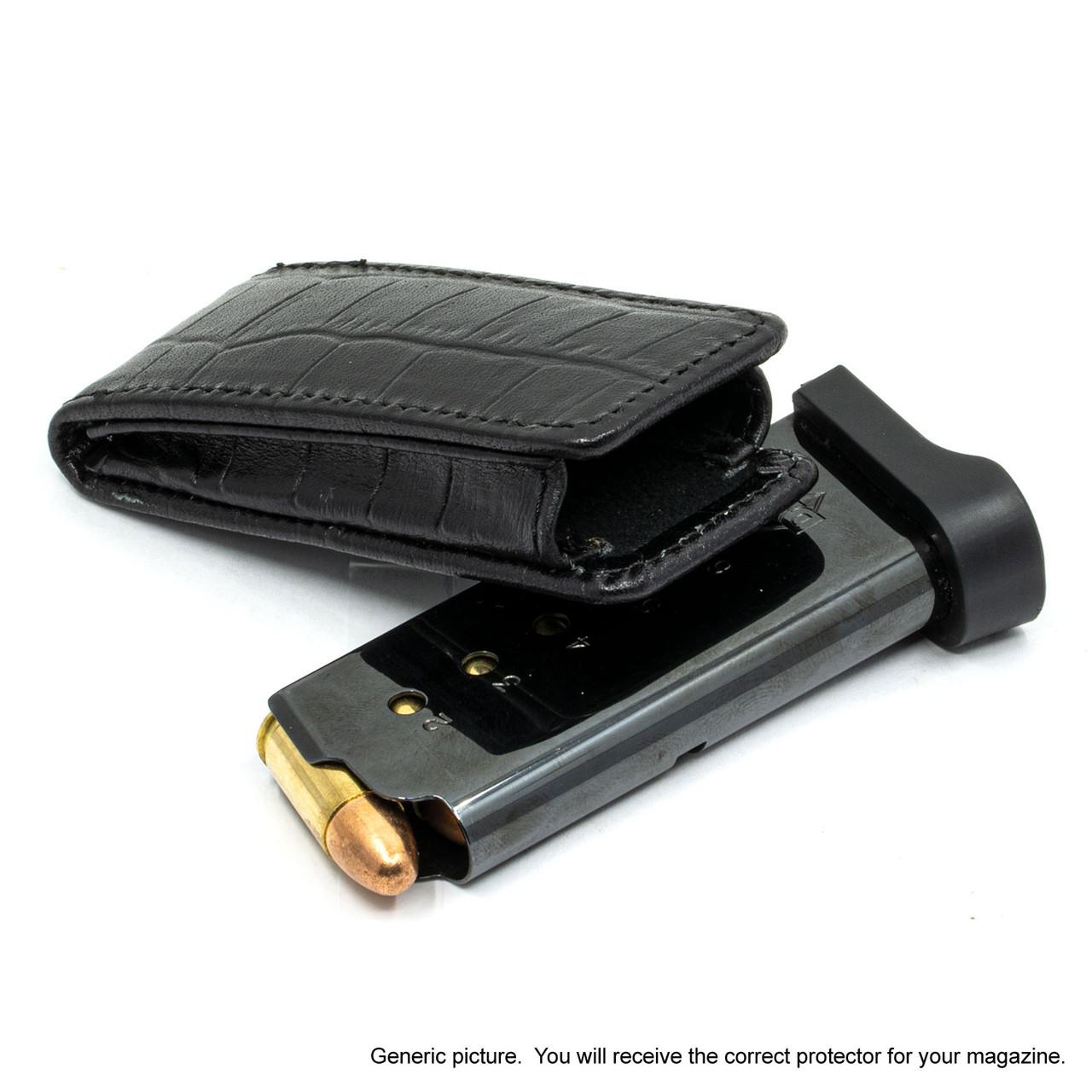 Taurus GX4 Holsters Black Alligator Magazine Pocket Protector