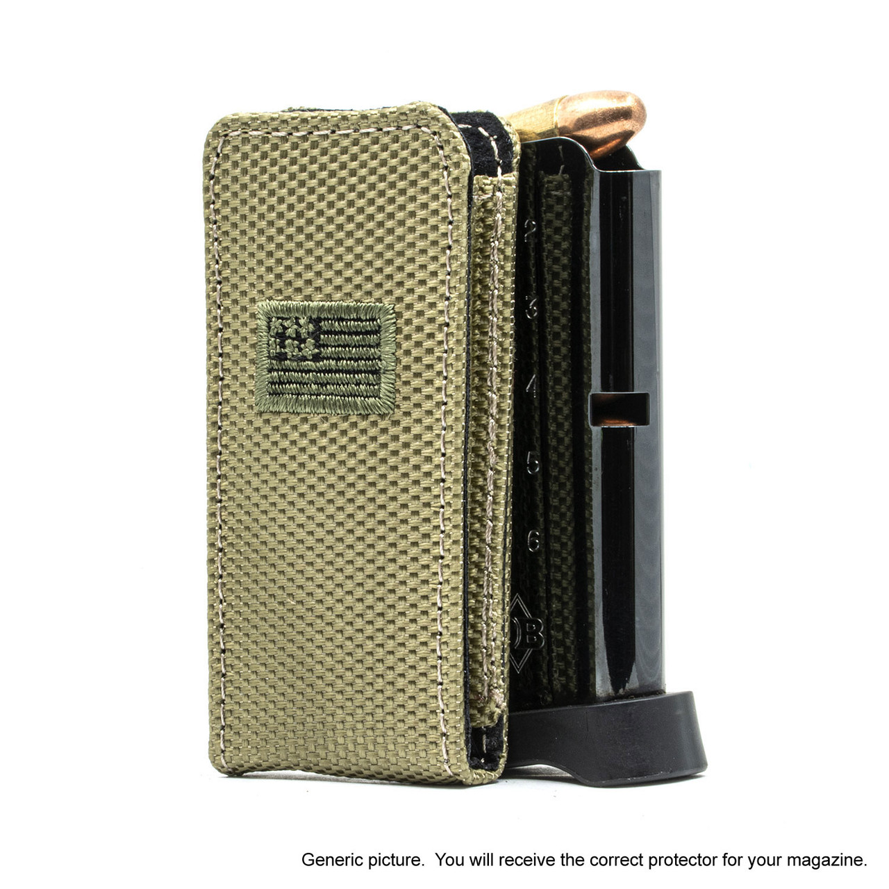 Beretta APX Carry Holsters Green Canvas Flag Magazine Pocket Protector