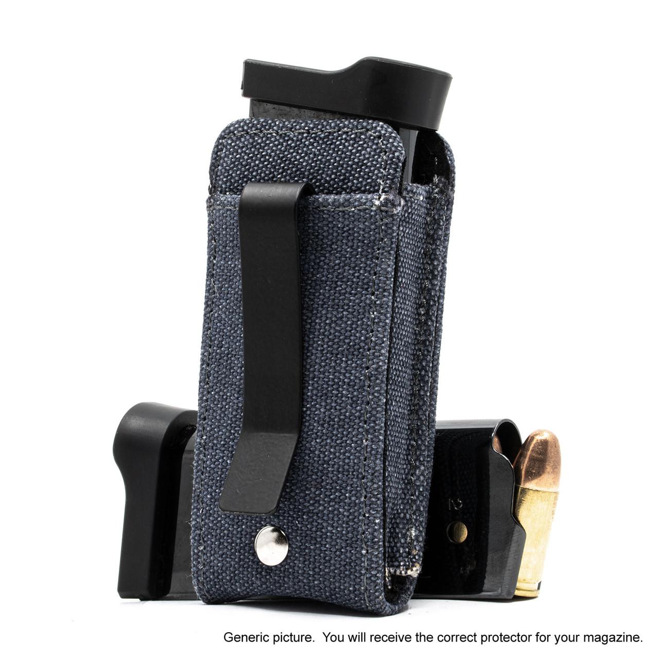 Ruger LCP MAX Denim Canvas Flag Magazine Pocket Protector