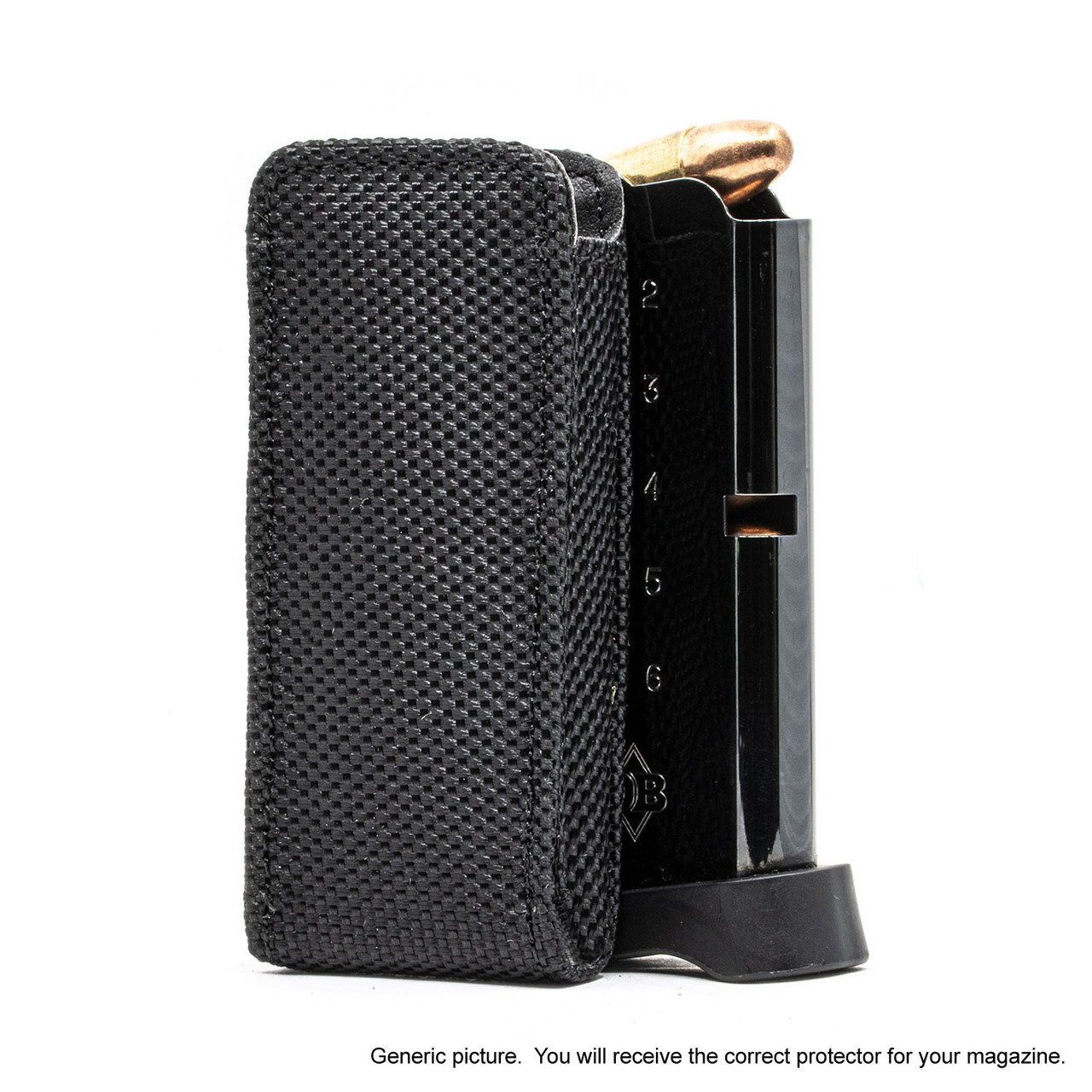 Colt Mark IV Series 80 (.380) Black Ballistic Nylon Magazine Pocket Protector