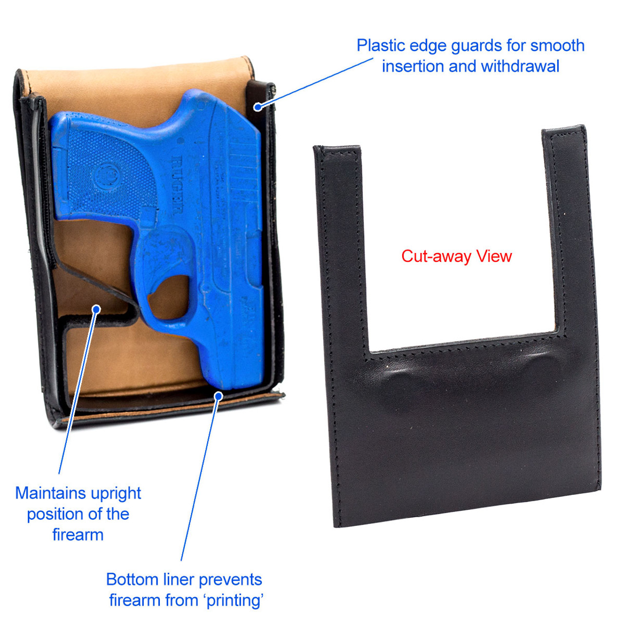 HK VP9 Concealed Carry Holster (Belt Loop)