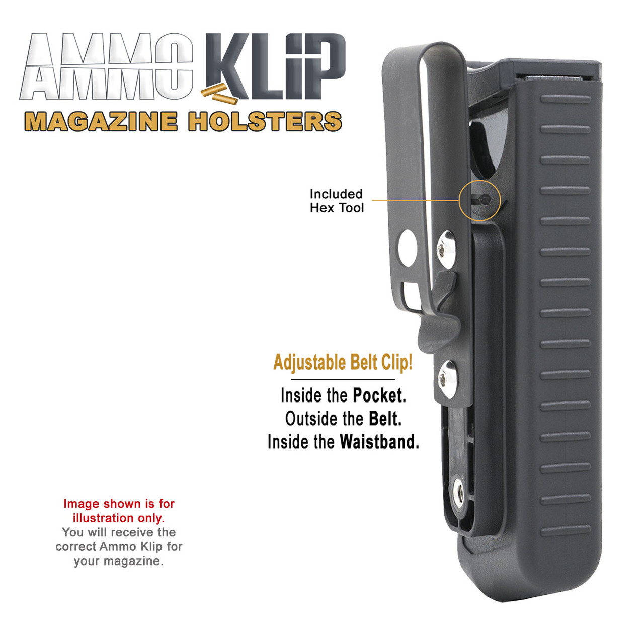 Ruger LCP & LCP II Ammo Klip