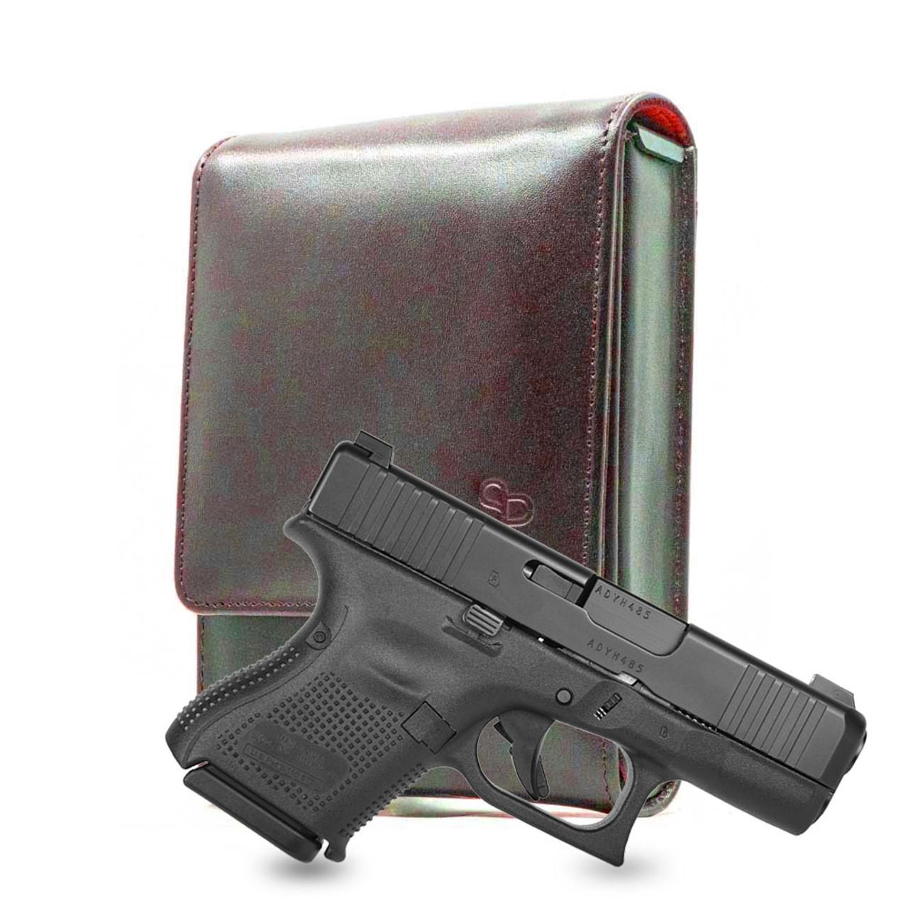 Glock 26 Brown Leather Series Holster