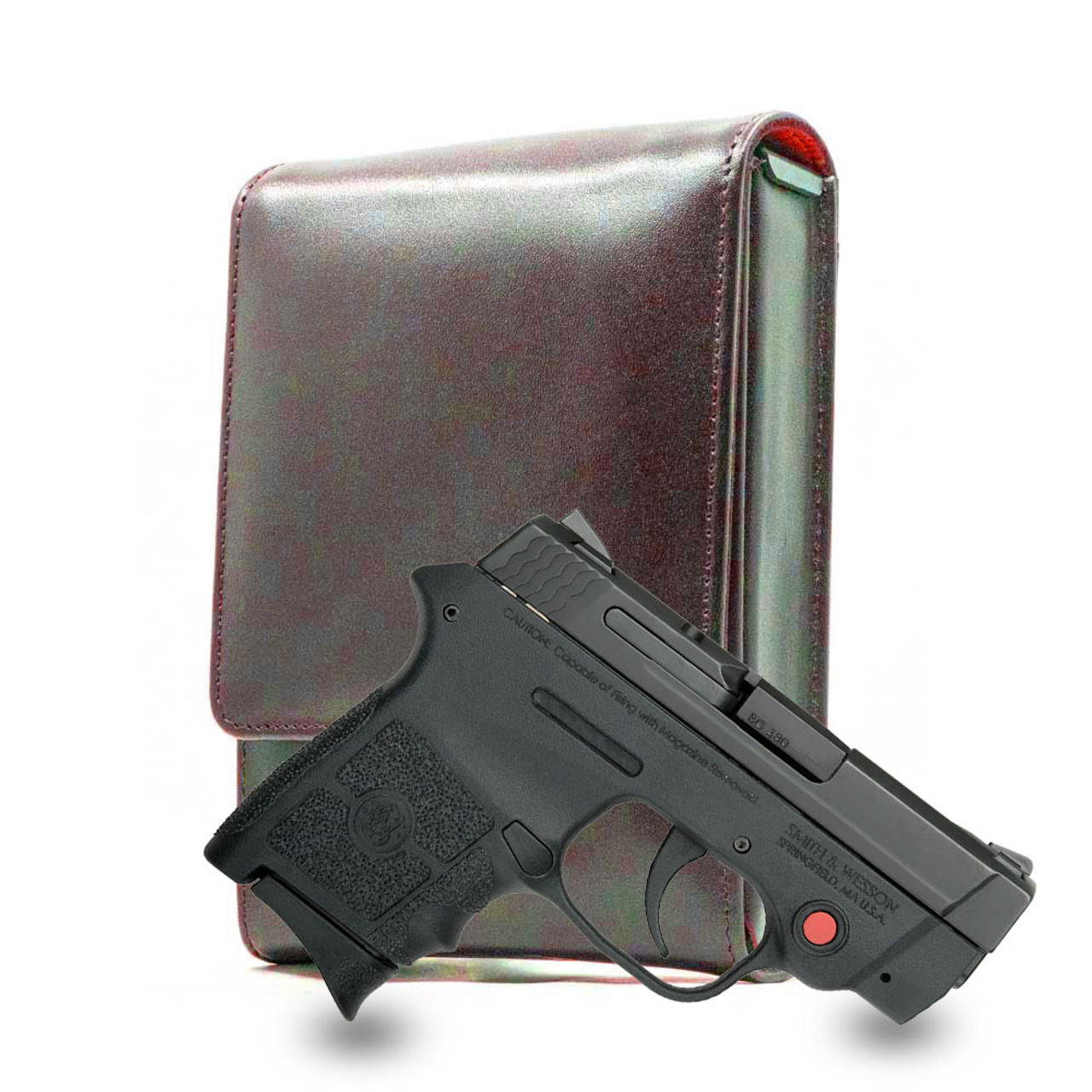 S&W Bodyguard 380 Brown Leather Series Holster