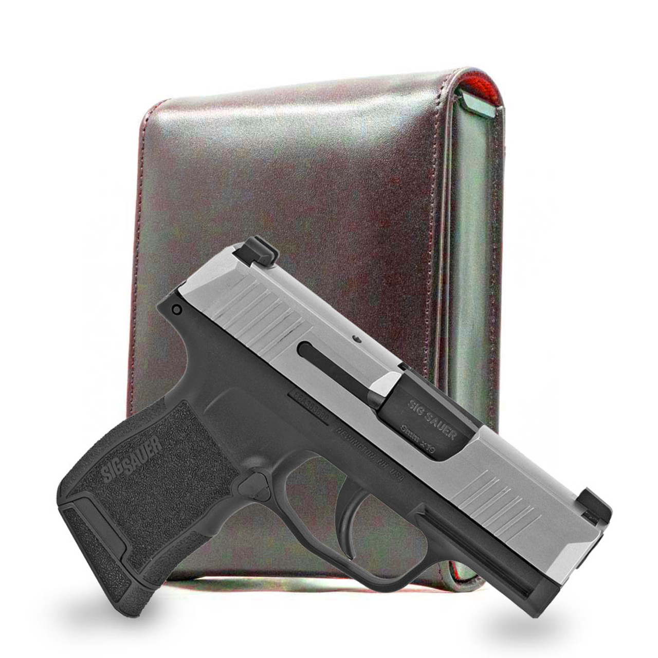 Sig P365 Brown Leather Series Holster
