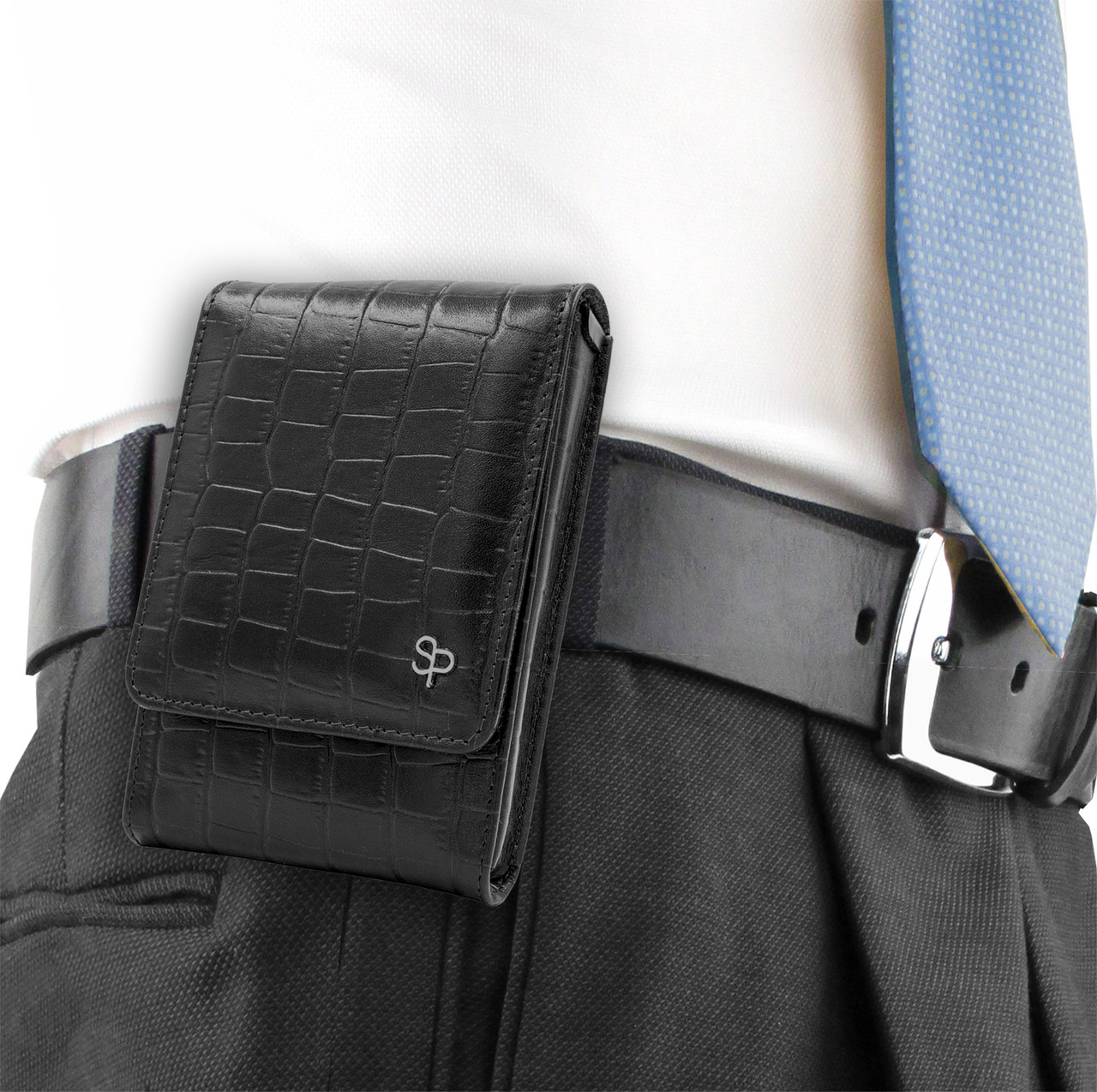 Walther PPQ Sub-Compact Black Alligator Series Holster