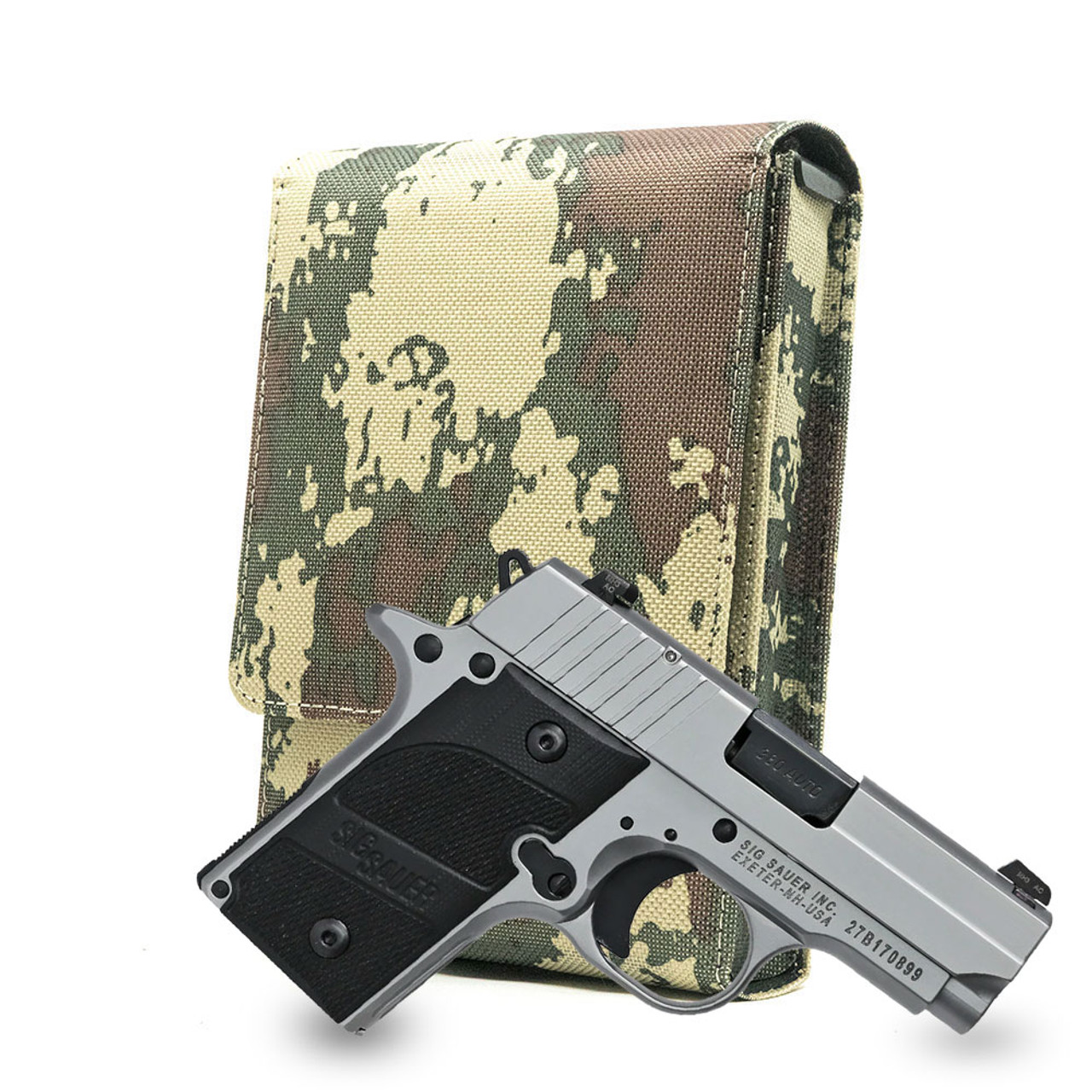 Sig P238 Camouflage Nylon Series Holster