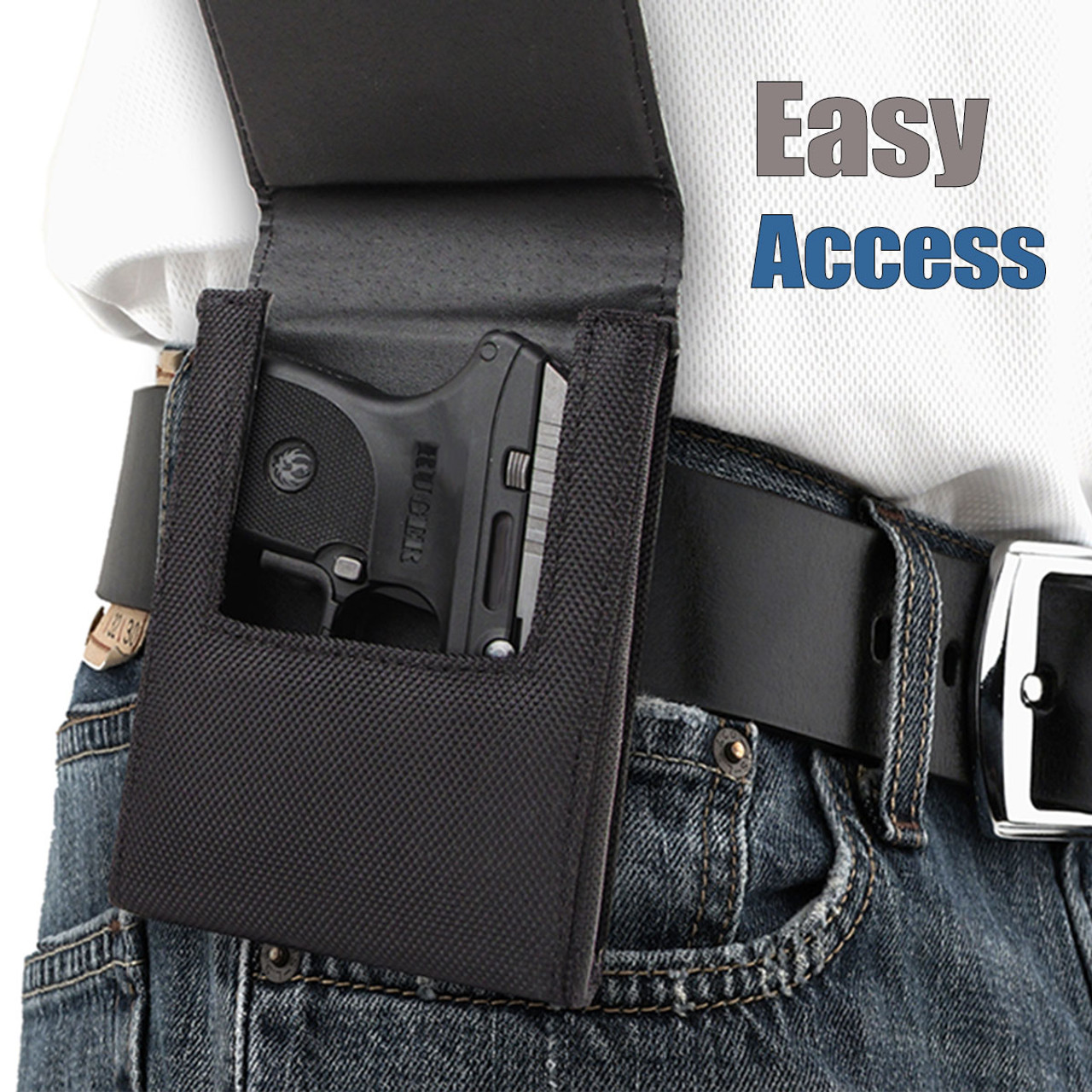 S&W J-Frame Concealed Carry Holster (Belt Loop)