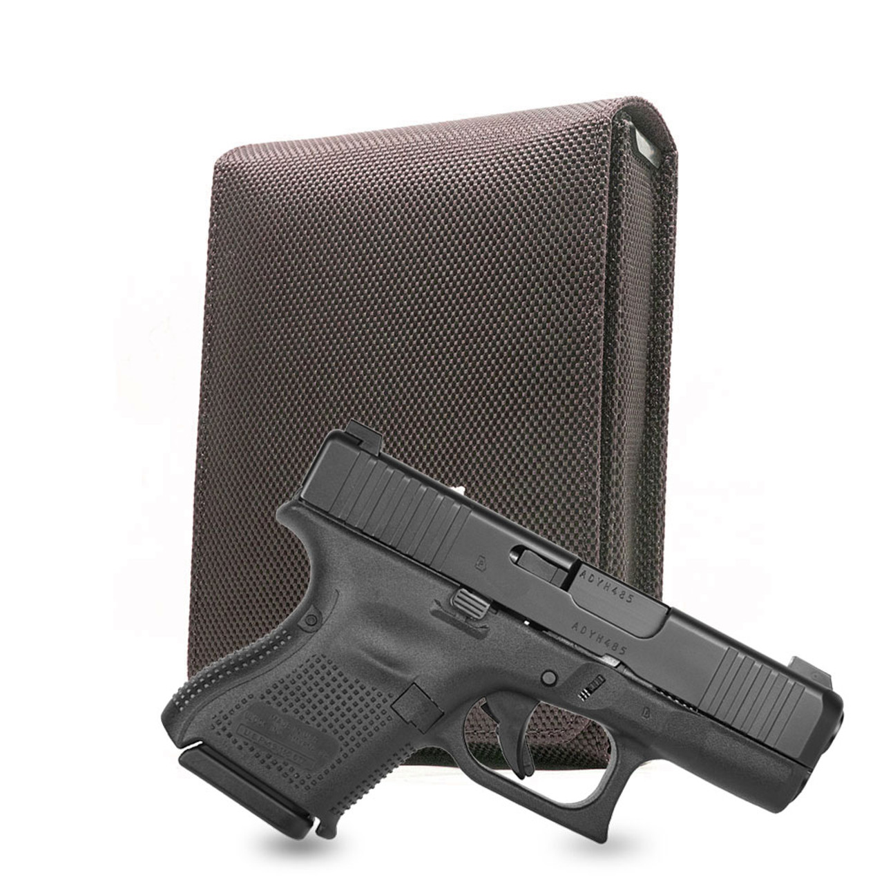 Glock 26 Brown Nylon Cross Series Holster