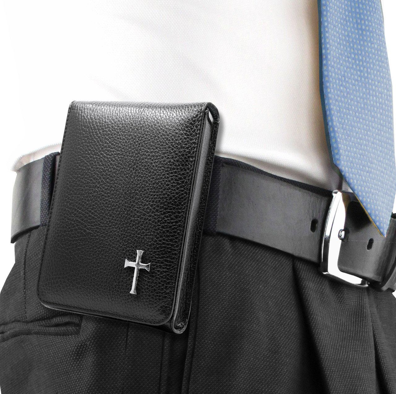 Springfield XDE 9mm Black Leather Cross Series Holster