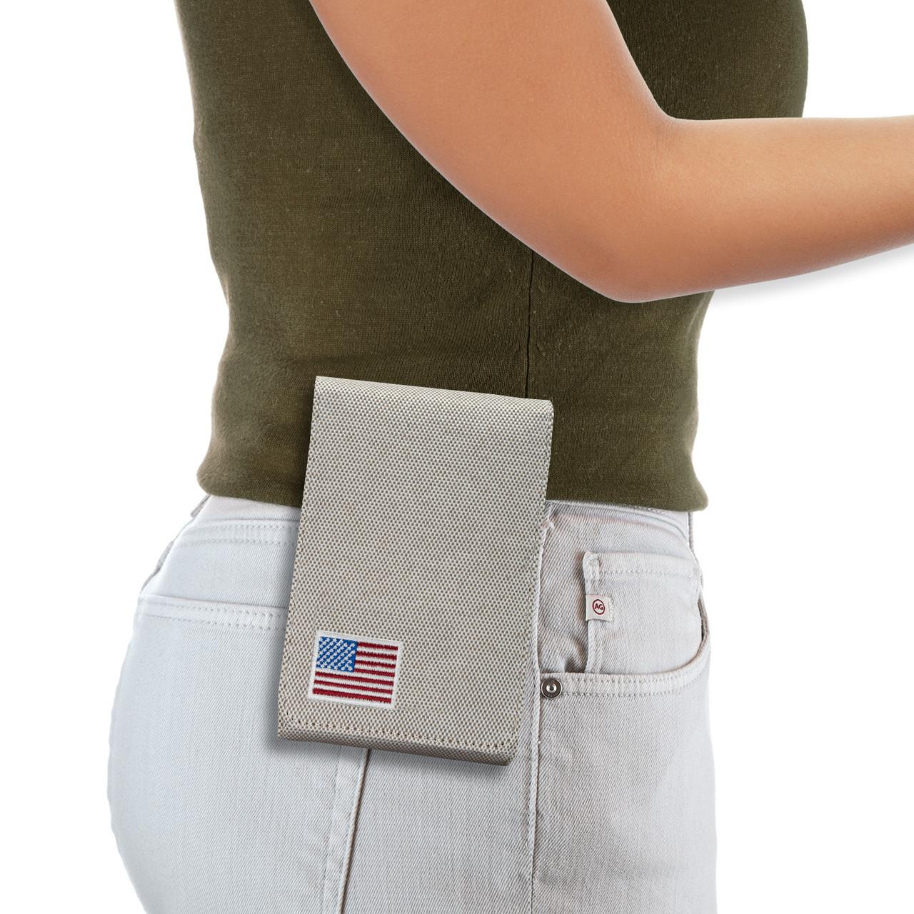 Shield EZ 9mm Tan Canvas Flag Series Holster