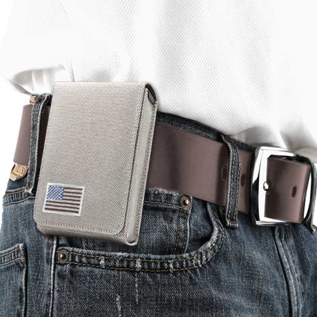 Walther PPK Tan Canvas Flag Series Holster
