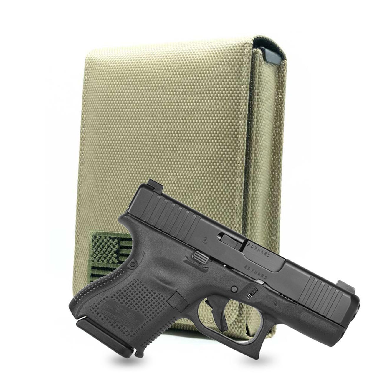 Glock 26 Green Canvas Flag Series Holster