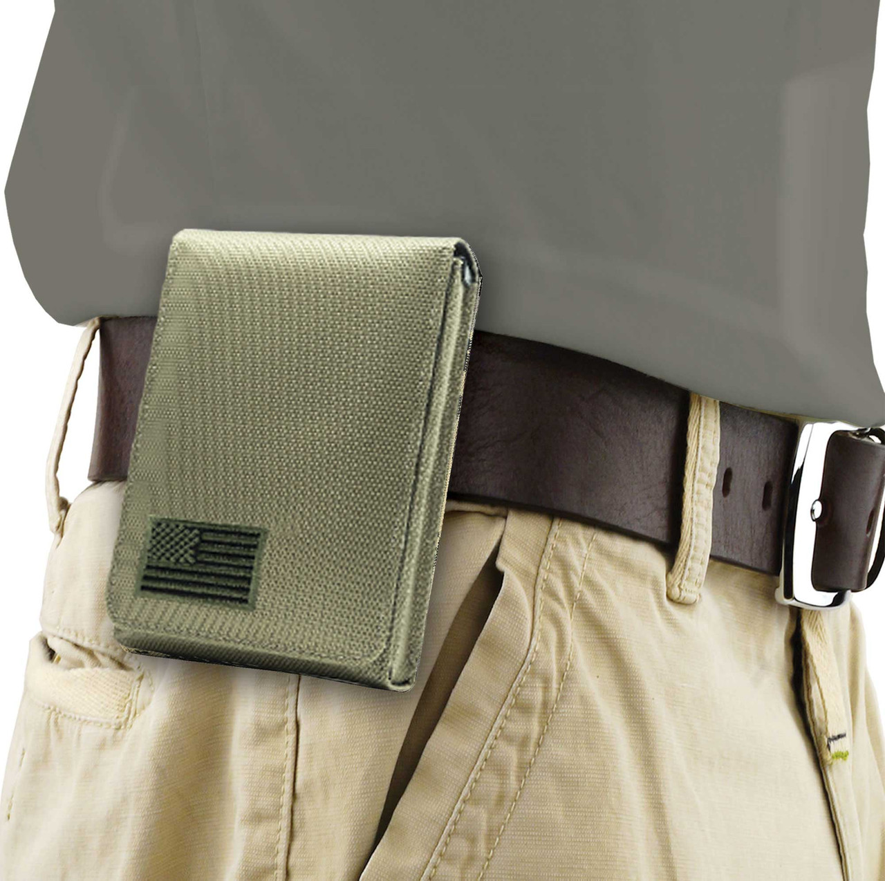 Springfield Ultra Compact Green Canvas Flag Series Holster