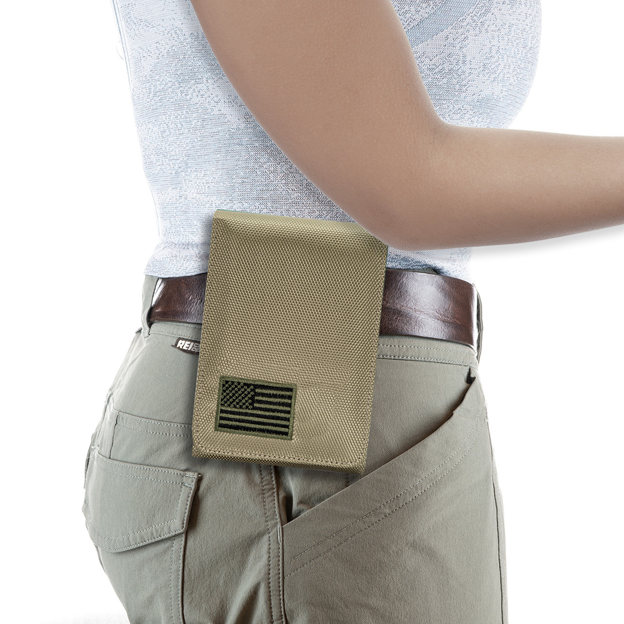 Springfield XDE 9mm Green Canvas Flag Series Holster
