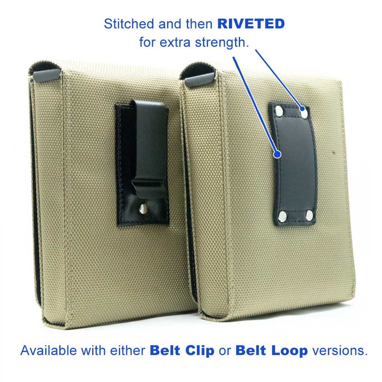 Walther PPQ Sub-Compact Green Canvas Flag Series Holster