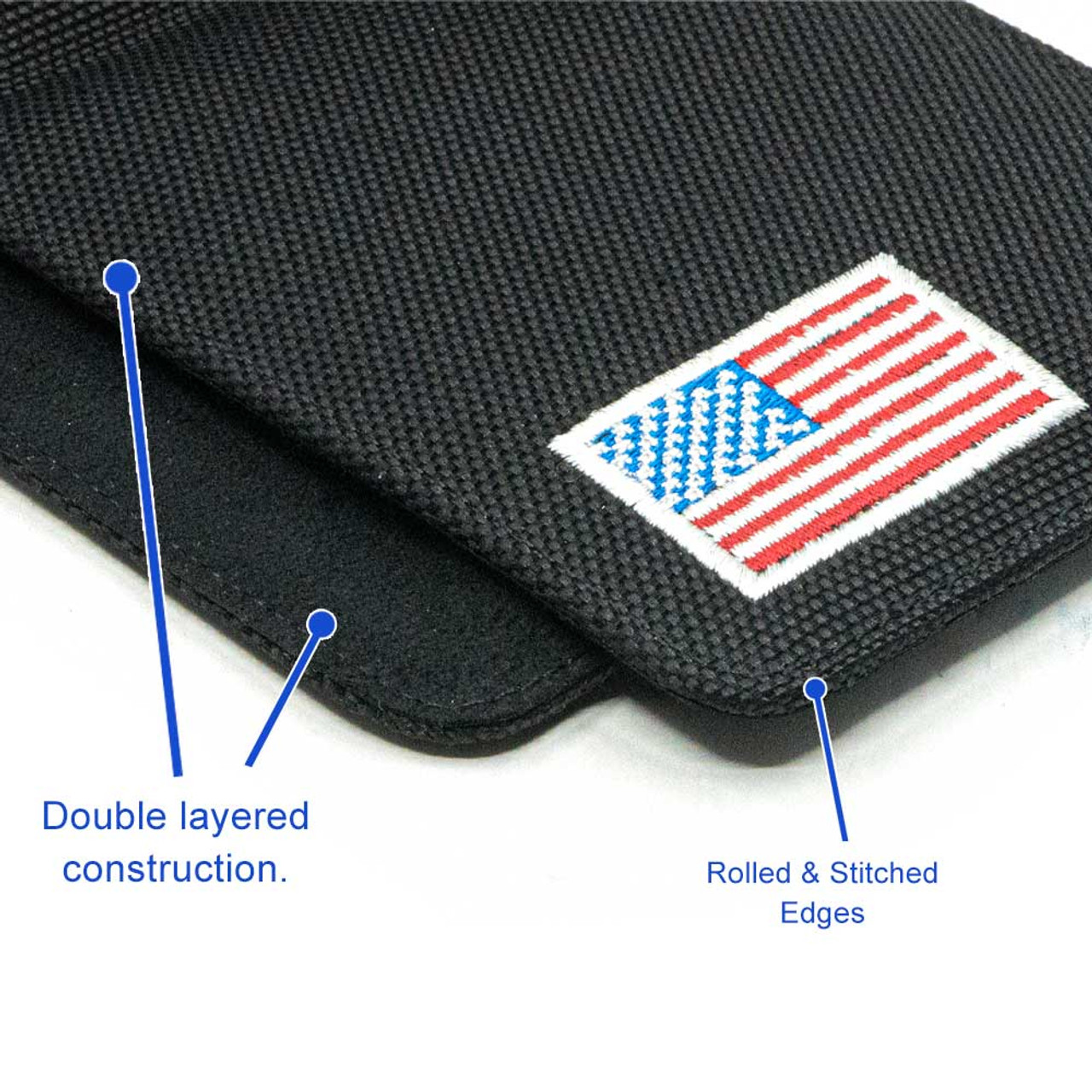 Ruger Security 9 Compact Black Canvas Flag Series Holster