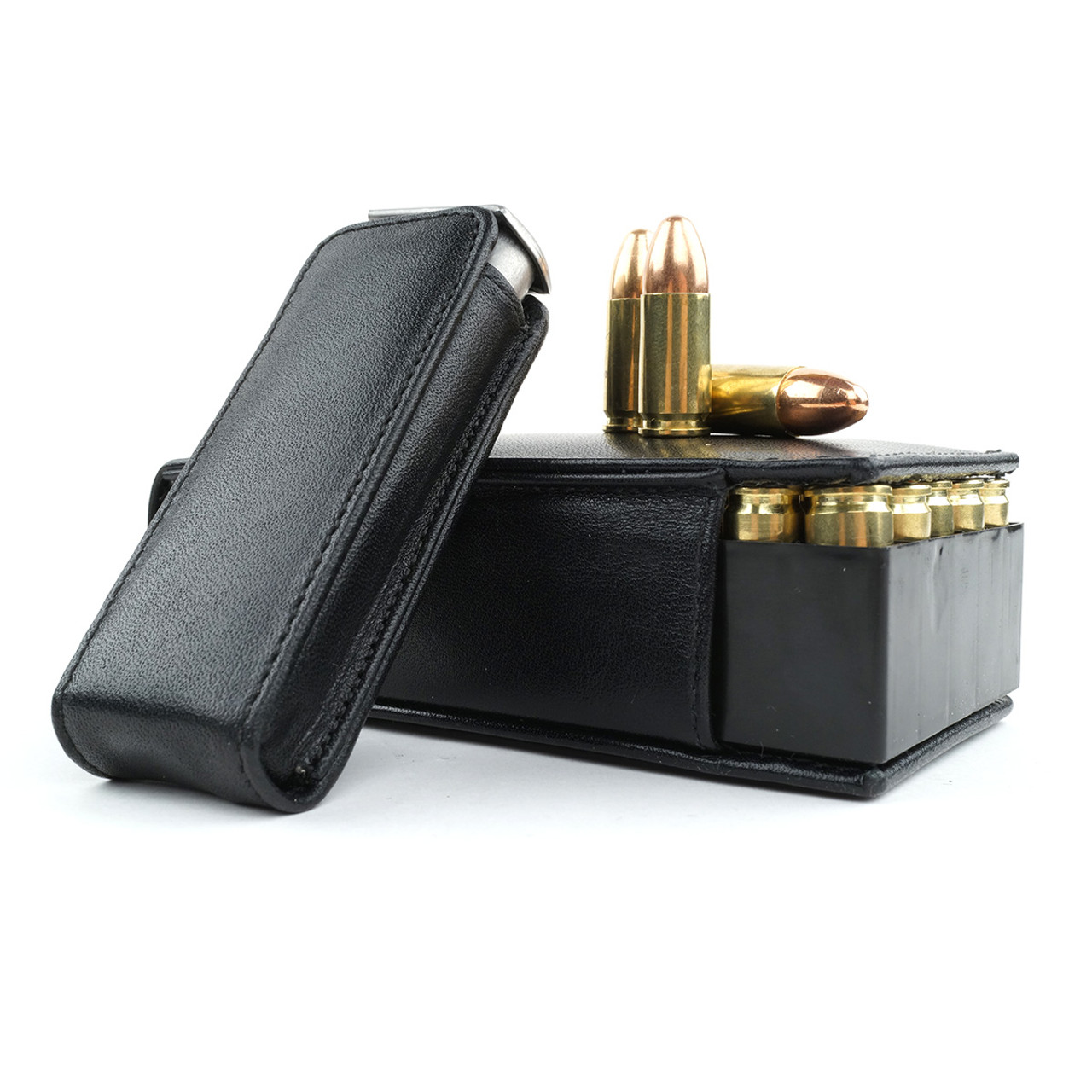 Glock 19 Leather Bullet Brick