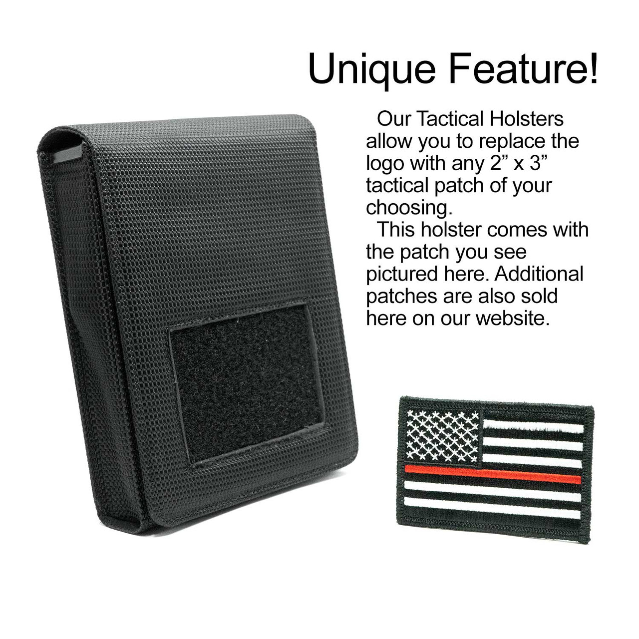 Glock 43X Thin Red Line Holster