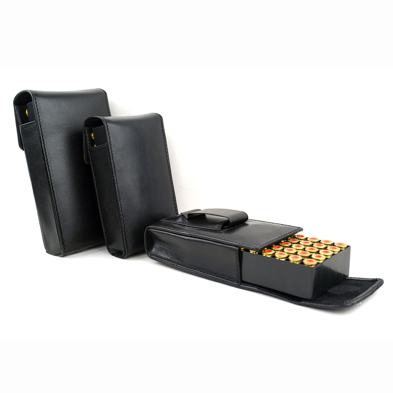 Walther PPS 40cal Leather Arsenal 50 Round Belt Case