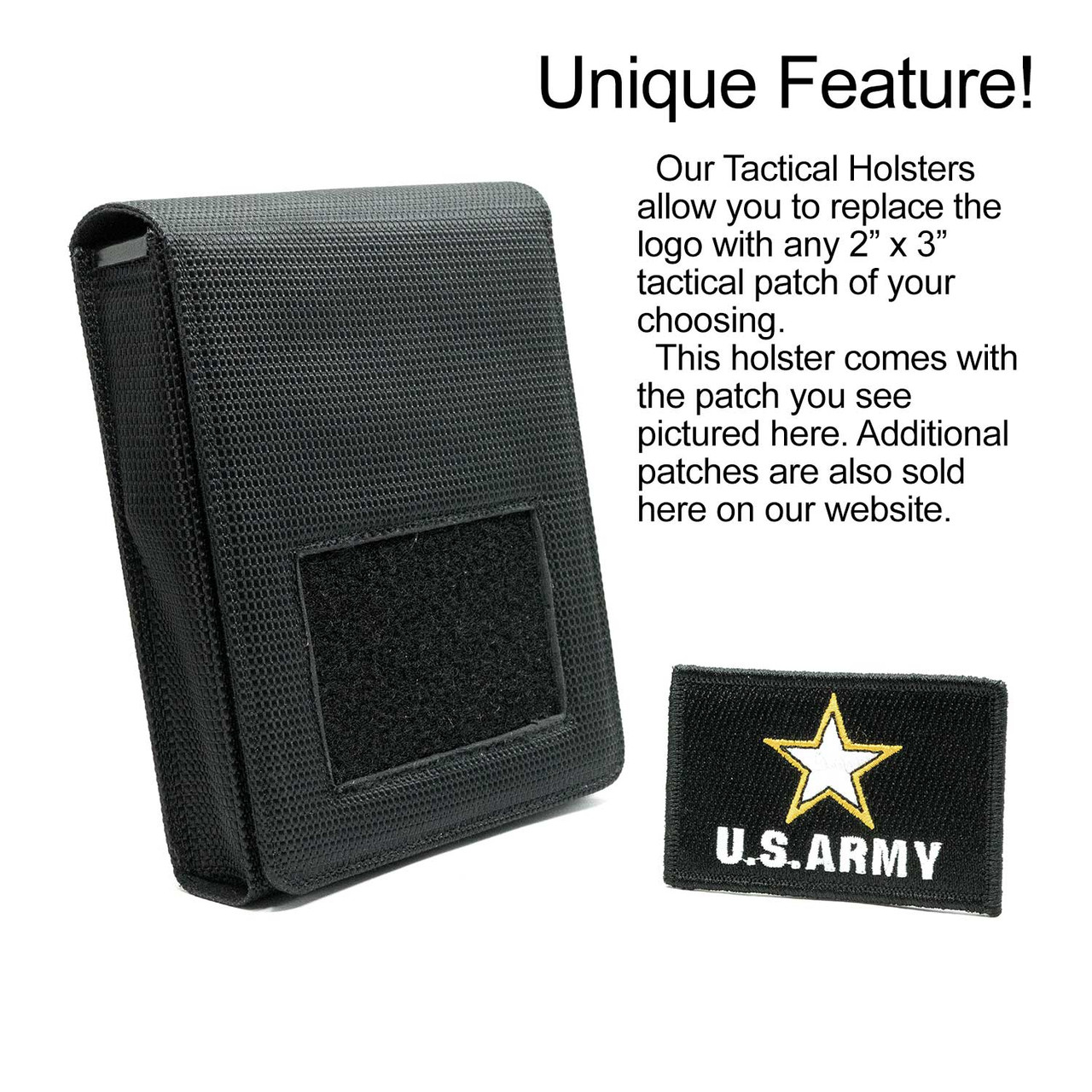 Bersa TPR9c Army Tactical Patch Holster