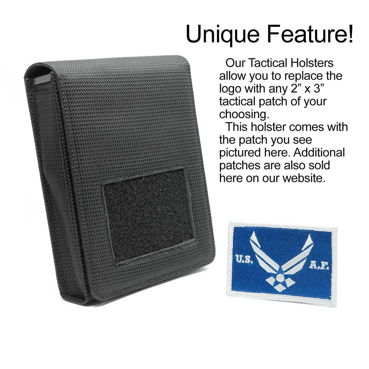 Bersa TPR9c Air Force Tactical Patch Holster