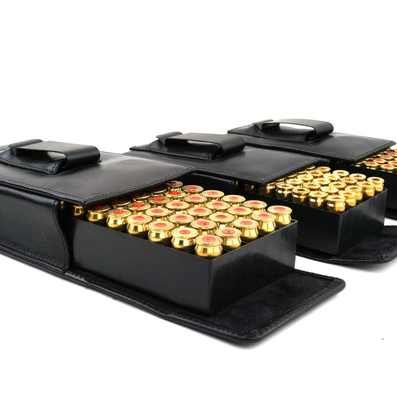 Glock 43 Leather Arsenal 50 Round Belt Case