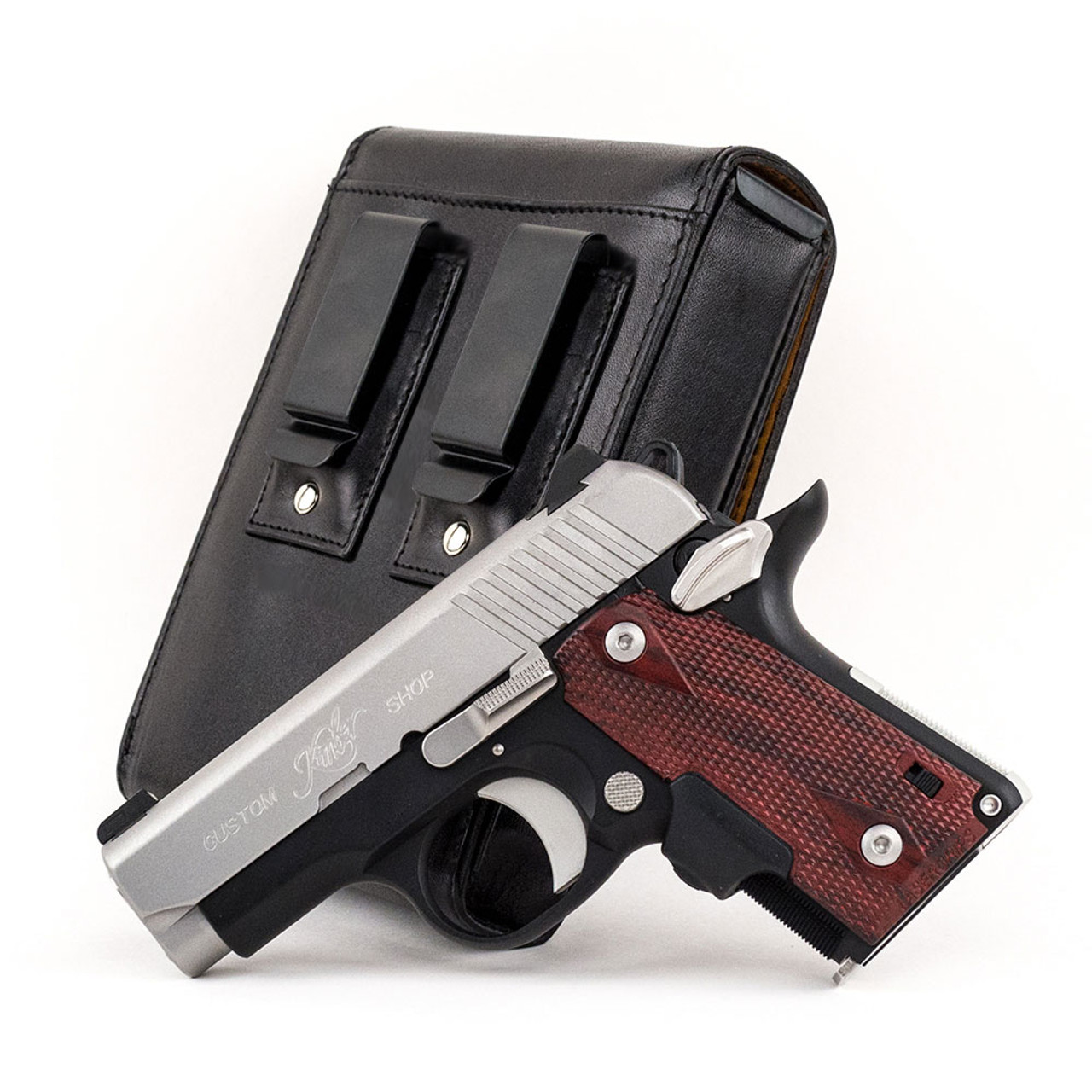 Kimber Micro CDP  380 Sneaky Pete Holster (Belt Clip)