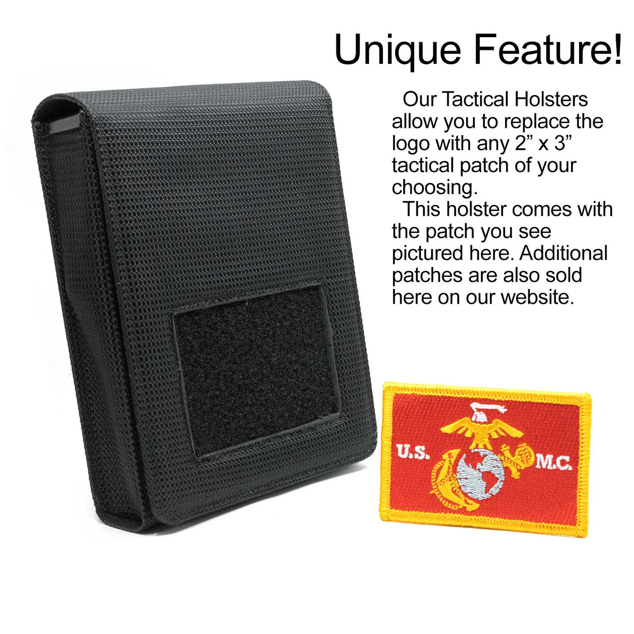 Glock 19X Marine Corps Tactical Patch Holster
