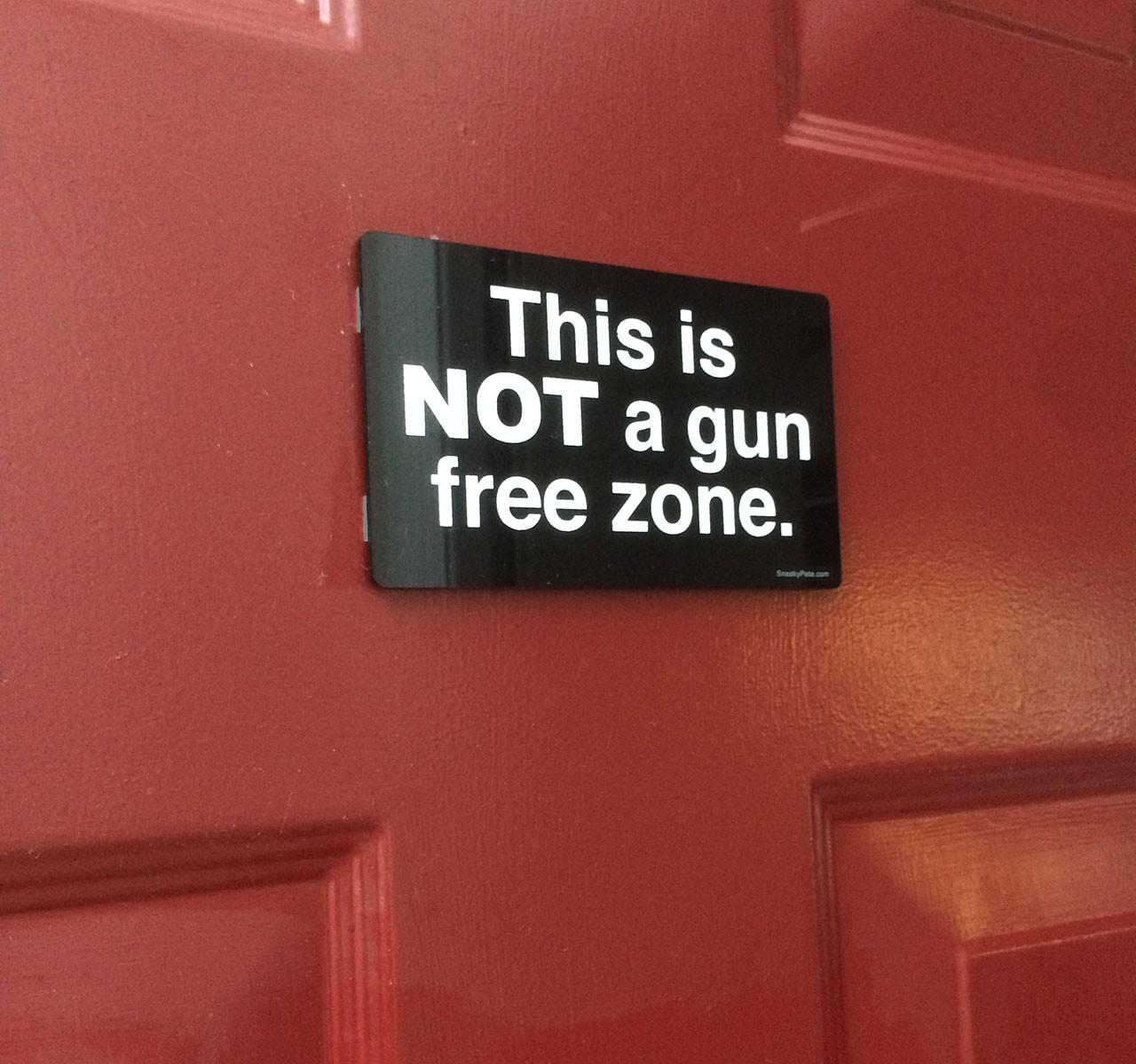 This is NOT a Gun Free Zone