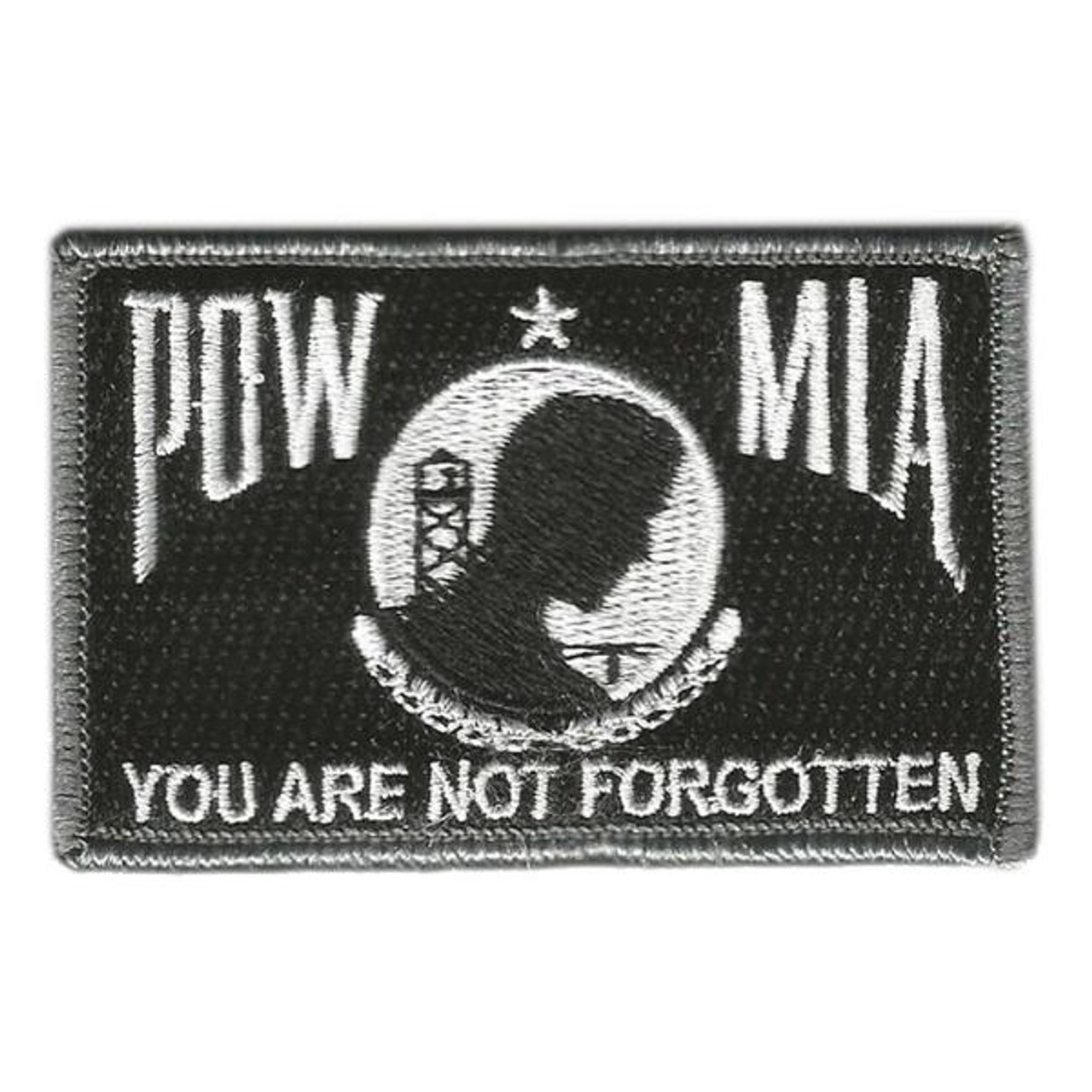 POW MIA Tactical Patch